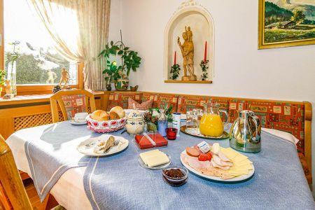 Frühstücksimpressionen im Haus Ostara